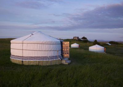 Blue-yurt